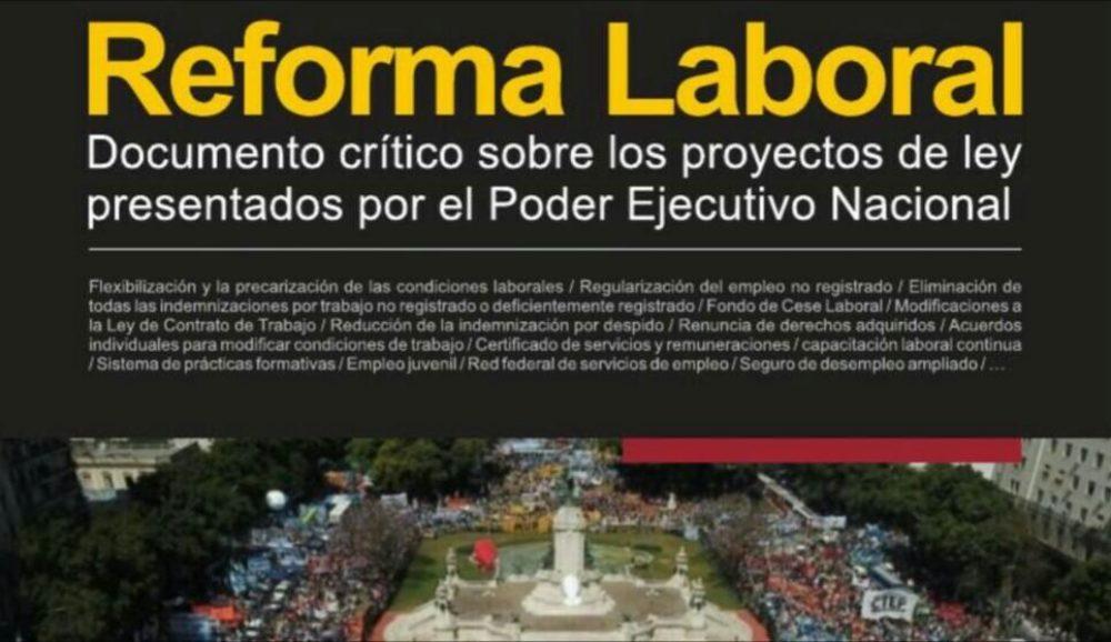 Ante la reforma laboral