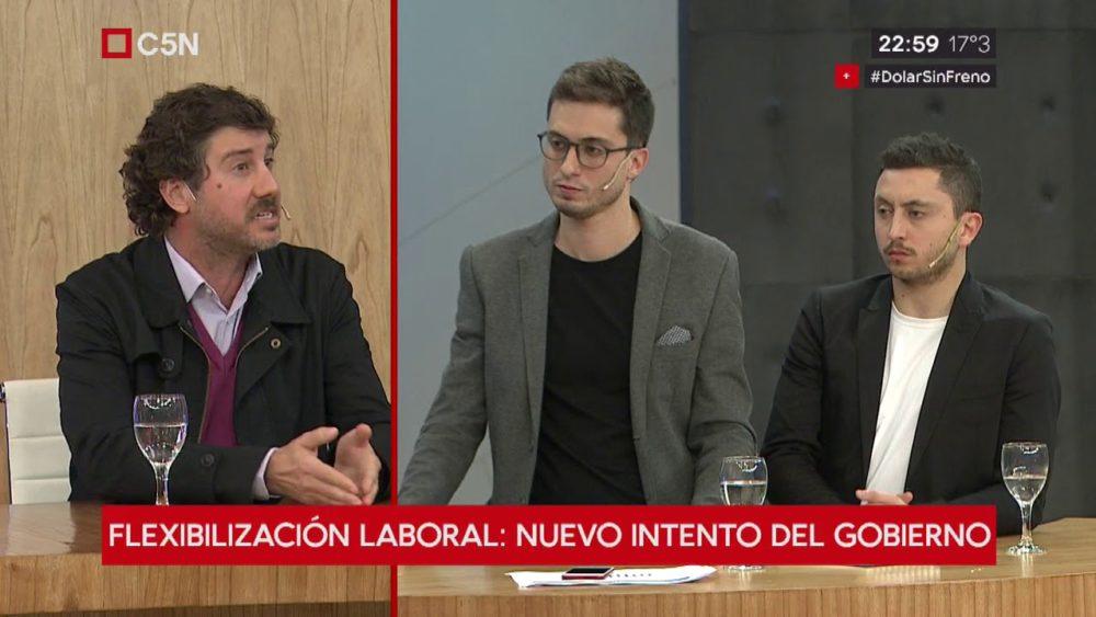 Debate Matías Cremonte – Julián De Diego sobre la reforma laboral