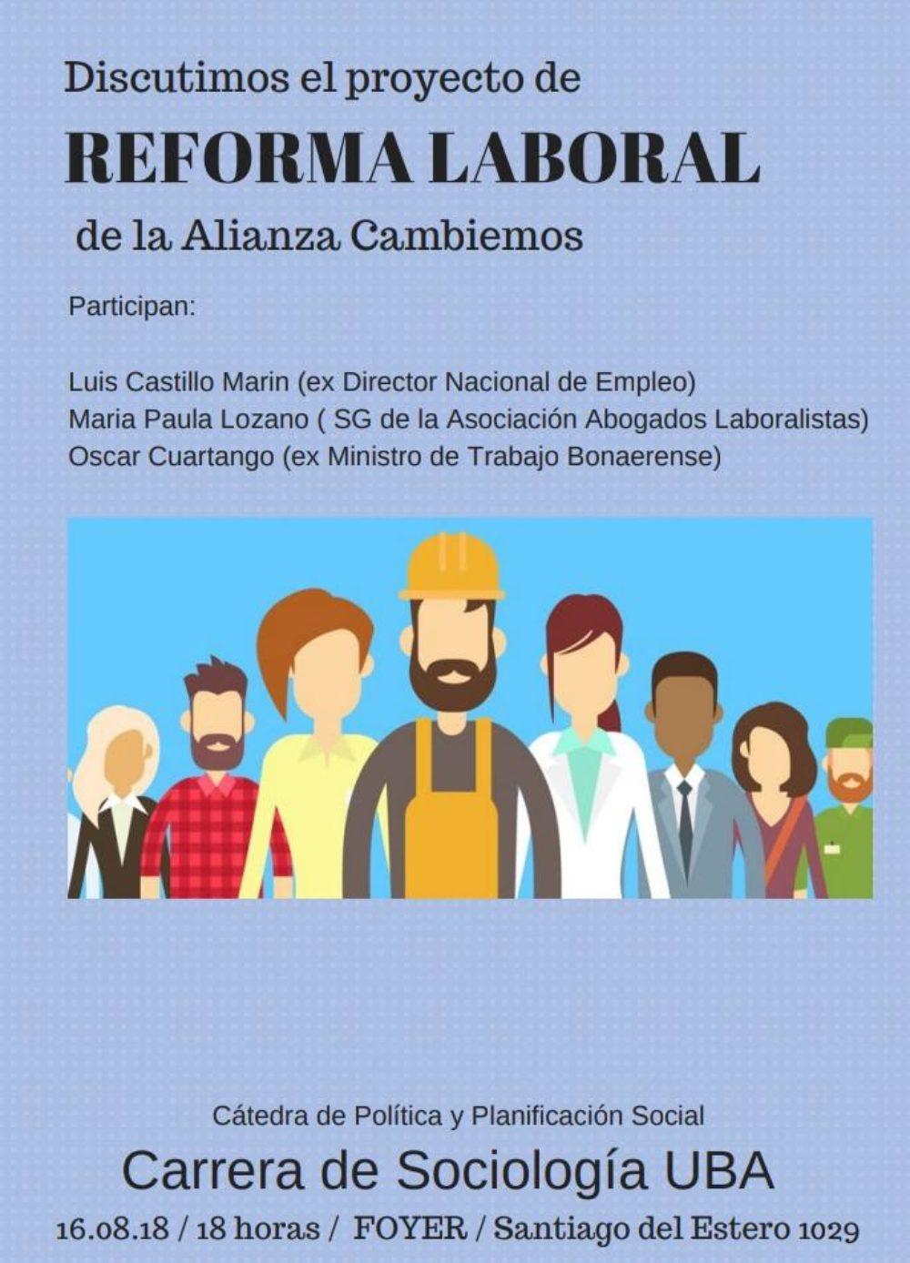 Debate sobre la reforma laboral del gobierno