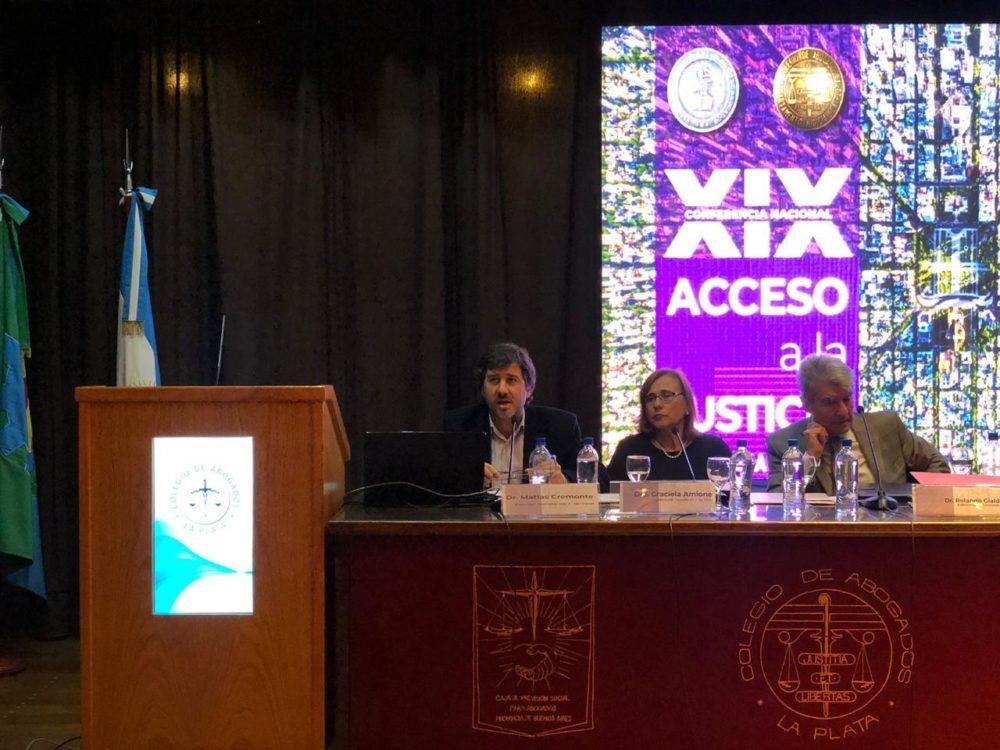 Laboralistas presente en el debate sobre «Acceso a la Justicia. Roles de la abogacía»